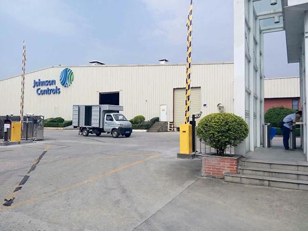 访客系统联动翼闸解决方案在约克(广州)空调冷冻设备有限公司使用