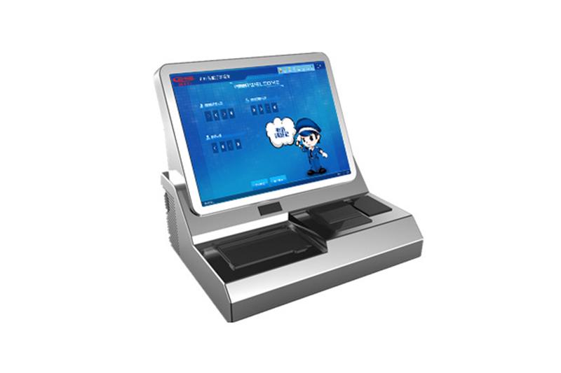 单屏访客一体机与双屏访客一体机在加特可(广州)自动变速箱有限公司使用
